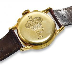 Σε δημοπρασία το σπάνιο, χρυσό ρολόι του βασιλιά Φαρούκ [pics]