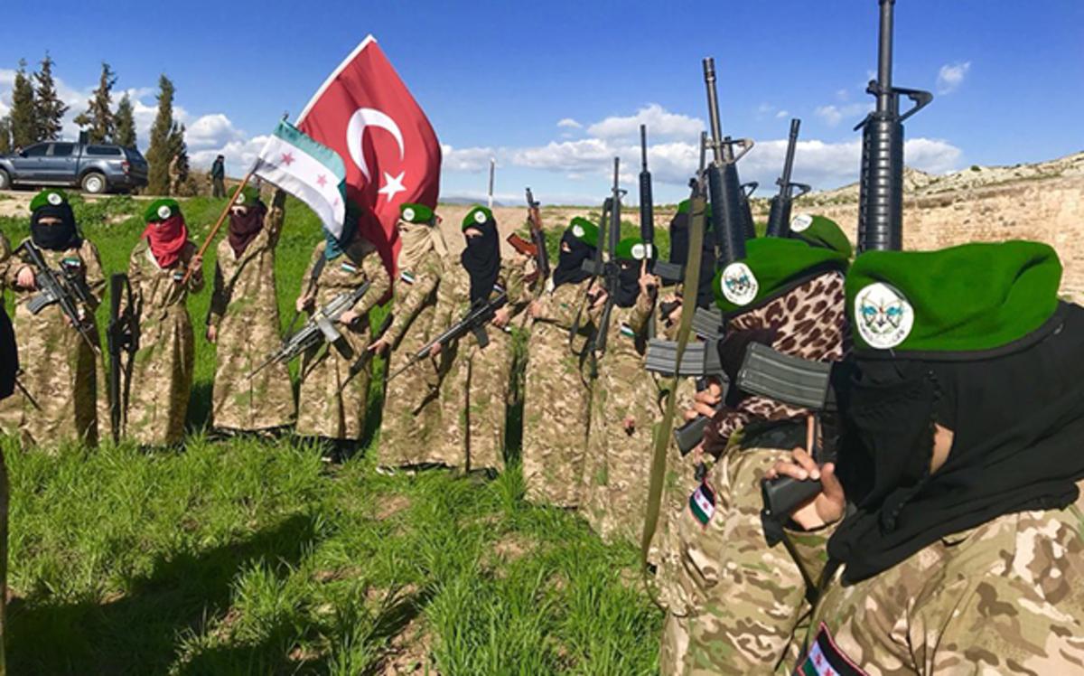 Η Τουρκία εκπαιδεύει τζιχαντίστριες για τη μάχη στην Αφρίν