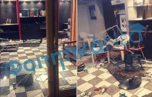 Επίθεση δέχθηκε φοιτητική παράταξη στη Θεσσαλονίκη [pic]
