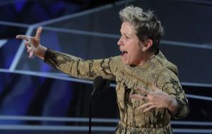 Oscar 2018: Η Φράνσις Μακ Ντόρμαντ έσωσε την βραδιά – Ξεσήκωσε με την ομιλία της