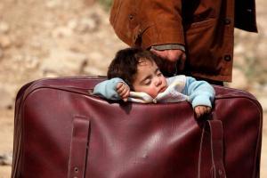 Αυτός είναι ο πόλεμος! Συγκλονιστικές εικόνες από την Γούτα