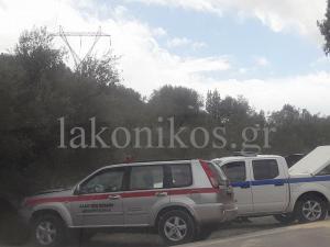 Τροχαίο με τρεις τραυματίες στη Λακωνία