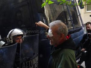 Πλειστηριασμοί: Τραυματίστηκε δημοσιογράφος του ΣΚΑΪ στα επεισόδια στη Σκουφά – Σχηματίζεται δικογραφία
