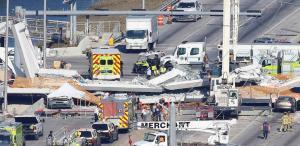 Κατάρρευση πεζογέφυρας στο Μαϊάμι – Έξι οι νεκροί – Καμία ελπίδα για επιζώντες