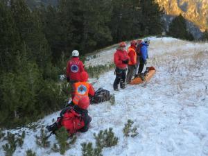 Συναγερμός στον Όλυμπο: Επιχείρηση διάσωσης τραυματισμένου ορειβάτη