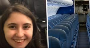 Ένα άδειο αεροπλάνο για την πάρτη της χάρη σε ένα λάθος αεροσυνοδού!