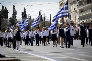 Παρέλαση 25ης Μαρτίου: Οι μαθητές τίμησαν την επέτειο της Ελληνικής Επανάστασης [pics]