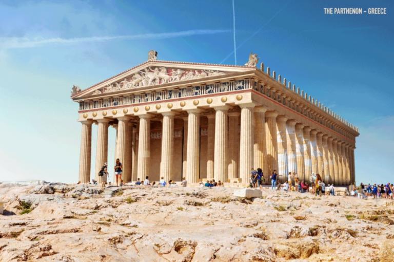 Συγκλονιστικό! Ο Παρθενώνας και έξι ιστορικά μνημεία «ζωντανεύουν»! [pics] | Newsit.gr