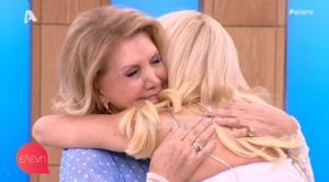 Ελένη Μενεγάκη – Λίτσα Πατέρα: Αγκαλιάστηκαν με δάκρυα! «Όλη τη ζωή σου την έζησα»!