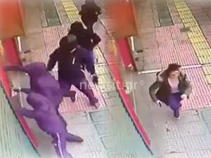 Επίθεση στην Πατησίων – Video ντοκουμέντο από την επίθεση – Πανικός σε περαστικούς και καταστηματάρχες
