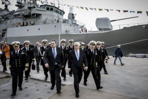 Παυλόπουλος – Καμμένος: Έστειλαν ηχηρά μηνύματα και ξεναγήθηκαν σε φρεγάτες και υποβρύχια!
