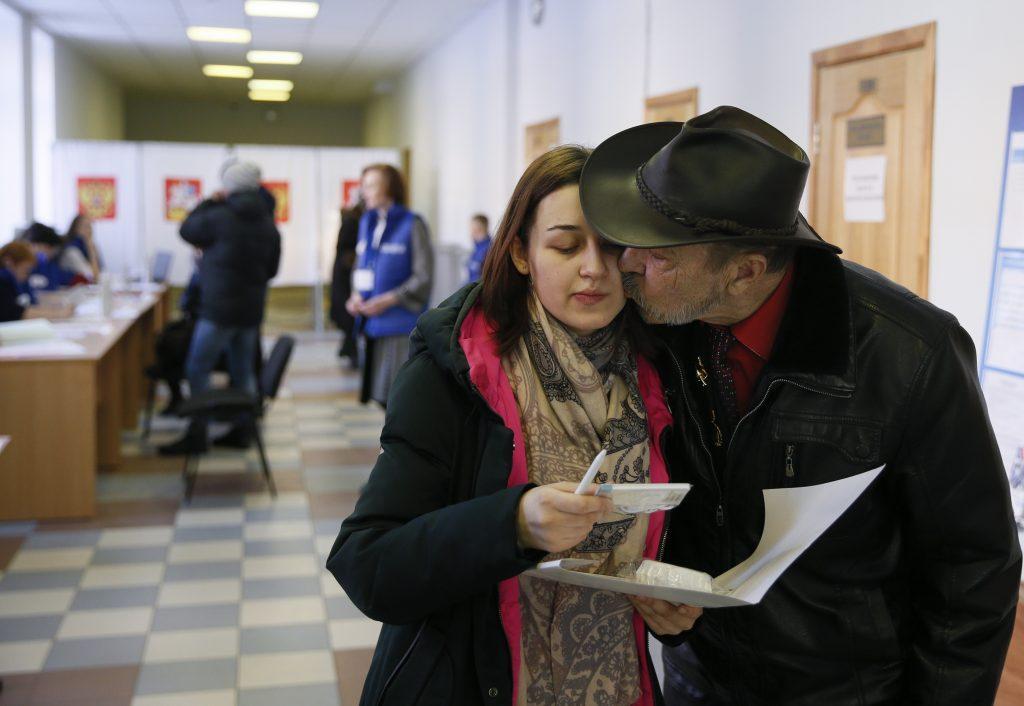 εκλογές στην Ρωσία Πούτιν