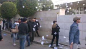 Βίντεο από το ντου του Ρουβίκωνα στο σπίτι της πρέσβειρας του Ισραήλ στην Αθήνα