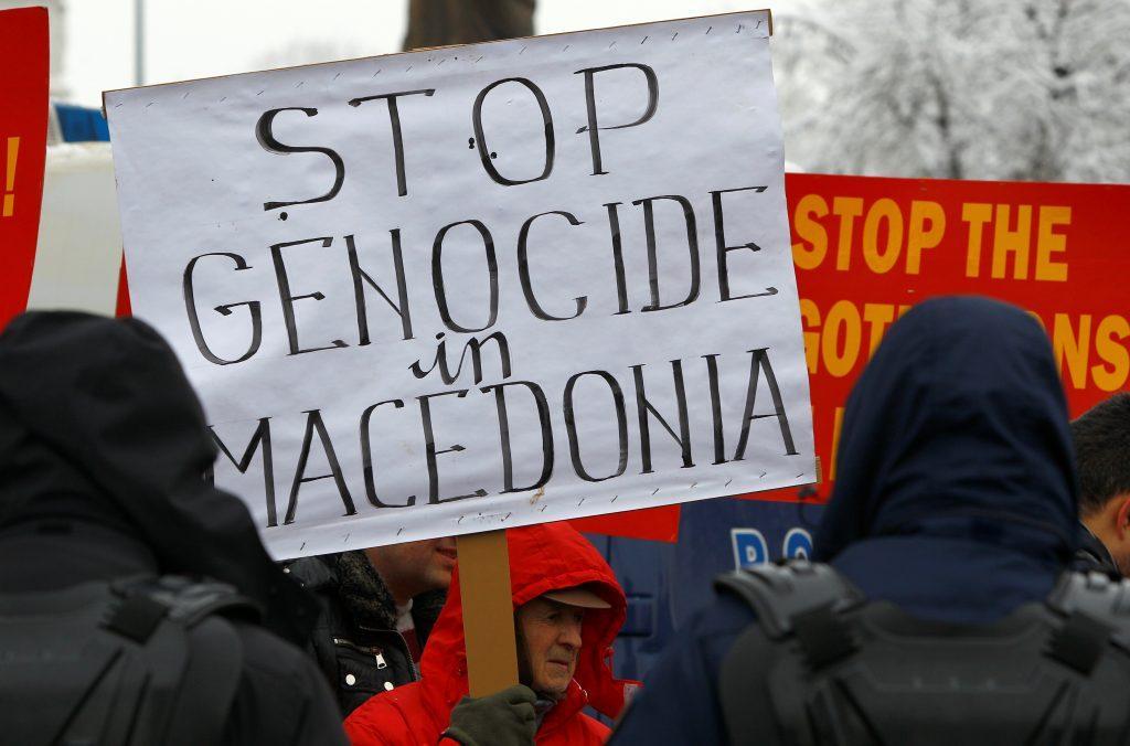 ΩΣ 'ΜΑΚΕΔΟΝΙΑ' υποδέχτηκαν τον ΚΟΤΖΙΑ οι Σκοπιανοί! Τώρα τι λέτε εσείς στο Μαξίμου;..