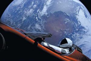 Space X: Απειλή για τον πλανήτη Άρη το αυτοκίνητο της Tesla