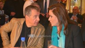 Ντόρα Μπακογιάννη – Σταύρος Θεοδωράκης: Αναγκαία η ομοψυχία στα εθνικά θέματα [vids]