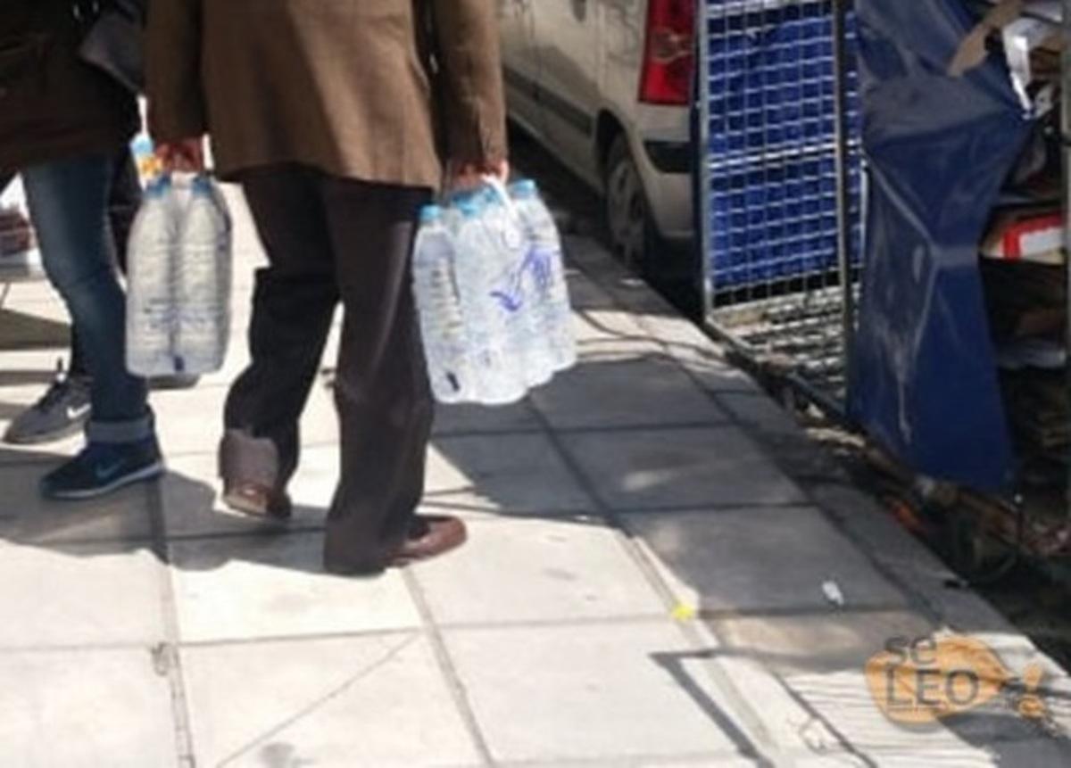 Θεσσαλονίκη: Το νερό… νεράκι, τουλάχιστον έως το μεσημέρι