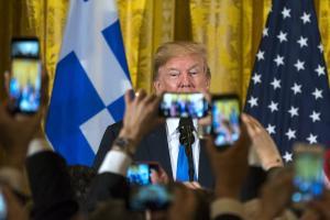 Τραμπ – 25η Μαρτίου: ΗΠΑ και Ελλάδα θα αντιμετωπίσουν μαζί τις προκλήσεις