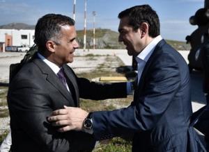 Σύρος: Ο Αλέξης Τσίπρας εγκαινιάζει την ενεργειακή σύνδεση των Κυκλάδων με την ηπειρωτική χώρα [pics]