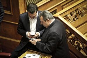Συνάντηση Τσίπρα – Καμμένου αύριο για τους δυο Έλληνες αξιωματικούς