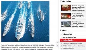 Νέα Τουρκική πρόκληση στο Αιγαίο – Βγάζουν πολεμικά πλοία ενώ είναι σε εξέλιξη η άσκηση Ηνίοχος
