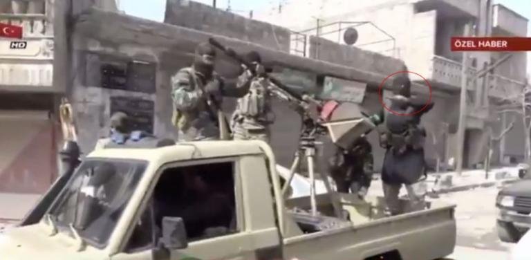 Ο τζιχαντιστής του Ερντογάν – Αποκαλυπτικό video από την εισβολή στο Αφρίν   Newsit.gr