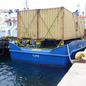 Ποσότητα – μαμούθ λαθραίων τσιγάρων σε πλοίο που «πιάστηκε» ανοιχτά της Γυάρου [pics]