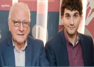 Ο Κώστας Χαρδαβέλας και ο γιος του Κωνσταντίνος έγραψαν μαζί ένα τολμηρό βιβλίο για τις ερωτικές περιπέτειες ενός πασίγνωστου δημοσιογράφου