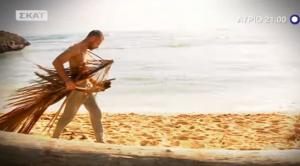 Ο Σώζων Παλαίστρος – Χάρος βάζει… φωτιά στην παραλία του Survivor! «Είναι μοναδική…»