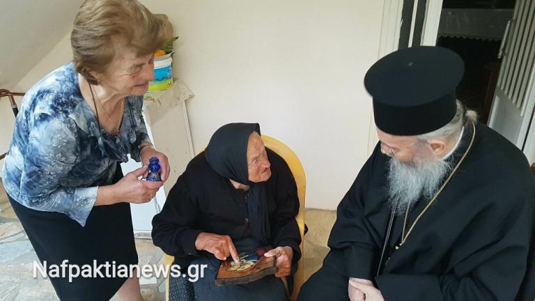 Ναύπακτος: Έκλεισε τα 110 χρόνια και είπε την απίστευτη ατάκα – Ποια είναι η Ελένη Τσαρούχη [pics, vid]   Newsit.gr