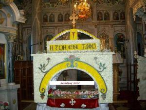Μυτιλήνη: Επιτάφιος αριστούργημα στο Άγιο Γεώργιο – Τον ετοιμάζουν από τον περασμένο Νοέμβριο!