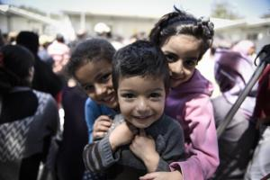 Λέσβος: Nέο κέντρο στήριξης για παιδιά και οικογένειες προσφύγων που διαμένουν στη Μόρια