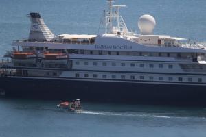 Χανιά: Το κρουαζιερόπλοιο που έκανε ποδαρικό – Ξεχύθηκαν στην πόλη 1.750 τουρίστες!
