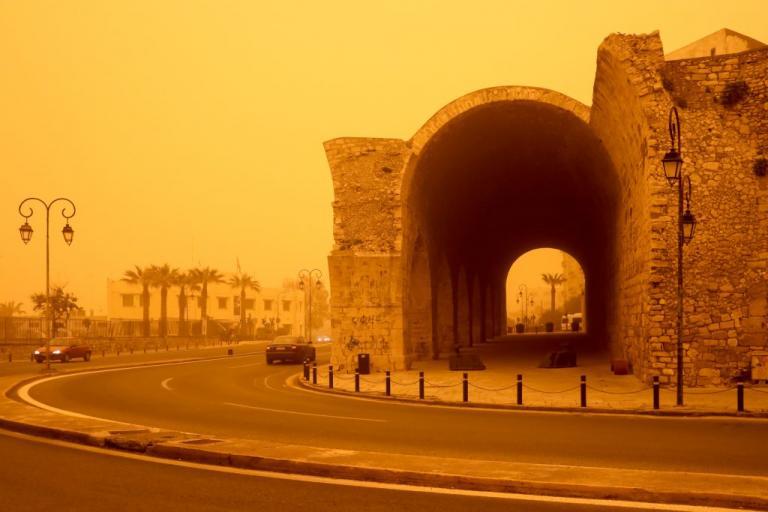 Μέχρι την Τετάρτη αφρικανική σκόνη στην Κρήτη   Newsit.gr