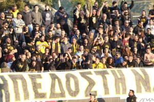 Η ΑΕΚ καλεί τον κόσμο της να μείνει μακρυά απ'το γήπεδο του Πλατανιά!