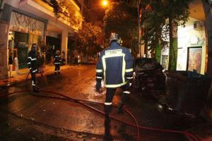Συναγερμός στην Βαρυμπόμπη! Το καμένο αυτοκίνητο και το ATM που έγινε στόχος