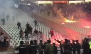 Χαμός στο Βελιγράδι! Απίστευτα επεισόδια στο Ερυθρός Αστέρας – Παρτιζάν [vids]