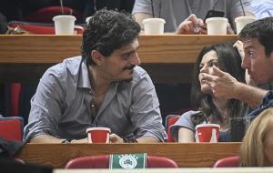 Παναθηναϊκός – Ρεάλ: Στην εξέδρα και πάλι ο Γιαννακόπουλος
