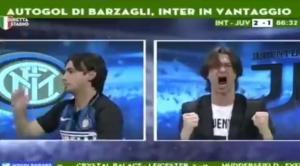 «Τρέλα»! Οι αντιδράσεις δυο αντίπαλων οπαδών στο Ίντερ – Γιουβέντους