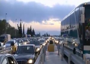 """Πάσχα: """"Γολγοθάς"""" η επιστροφή! Κίνηση σε εθνικές οδούς και διόδια!"""