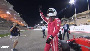 F1: Poleman ο Φέτελ στο Μπαχρέιν στην τελευταία προσπάθεια