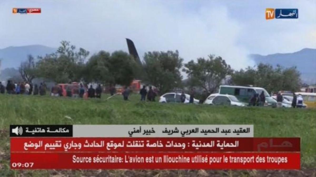 πτώση αεροπλάνου Αλγερία νεκροί