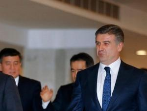 Αρμενία: Ο Κάρεν Καραπετιάν ανέλαβε προσωρινά καθήκοντα πρωθυπουργού