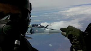 Mirage 2000-5: Καθυστέρηση στην επιχείρηση ανέλκυσης, λόγω κακών καιρικών συνθηκών