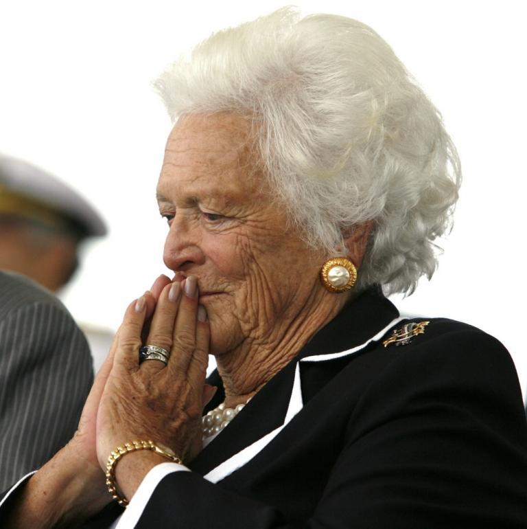 Πένθος στις ΗΠΑ για το θάνατο της Μπάρμπαρα Μπους | Newsit.gr