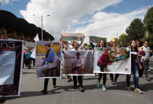 Κολομβία: Αποστάτες της FARC έδωσαν video με τρεις απαχθέντες