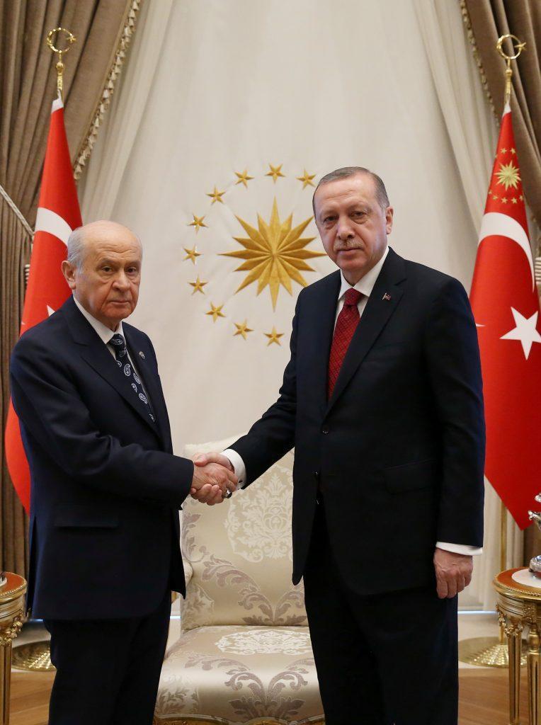 Ερντογάν Τουρκία εκλογές Μπαχτσελί