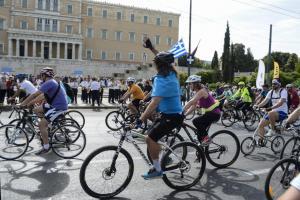 25ος Ποδηλατικός Γύρος: Προσοχή! Κυκλοφοριακές ρυθμίσεις σήμερα στην Αθήνα