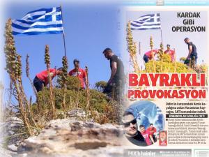 """""""Βατραχάνθρωποι κατέβασαν τη σημαία τα μεσάνυχτα"""" – Στήνουν σκηνικό Ιμίων στους Φούρνους οι Τούρκοι;"""