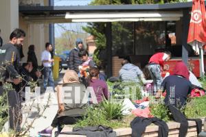 Ηλεία: Εντοπίστηκε σκάφος με 66 μετανάστες και 3 διακινητές στην Κυλλήνη [pics]
